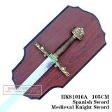 Espadas medievais da decoração das espadas das espadas da película 105cm HK8101