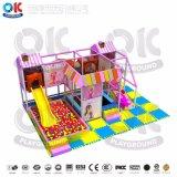 Пользовательские размеры детей игровая площадка для установки внутри помещений развлечений оборудование