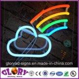 中心の形LEDのネオンサインRGBの装飾的で柔らかいネオン