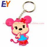 사려깊은 PVC Keychain 또는 주문 고무 열쇠 고리 또는 연약한 PVC 요르단 Keychain