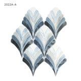 Mattonelle di mosaico decorative di vetro macchiato della stanza da bagno di arte della parete
