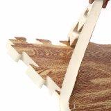 Azulejos compuestos de la simulación de la estera del grano de la estera del juguete de la espuma de madera de EVA