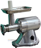 Mini tipo máquina de pulir de la carne, máquina para picar carne del cerdo para el pequeño departamento con el SUS 304 (MB-22X)