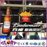 Cadre léger de barre de signe de bière de DEL