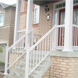 Balcón de aluminio recubierto de polvo de barandillas barandilla de balcón decorativo