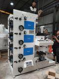 Machine d'impression flexographique de 4 couleurs pour l'adhésif de collant d'étiquette