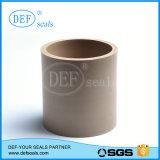 Tubo llenado de la fibra PTFE del carbón para los sellos hidráulicos