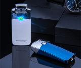 Лихтер сигареты электрической дуги цветастого металла атомный Windproof с коробкой подарка пакета