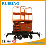 Piattaforma di sollevamento mobile fissa del carrello elevatore della rampa di caricamento della strumentazione di sollevamento del magazzino
