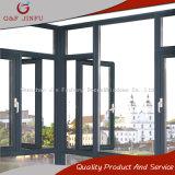 Ventana moderna al por mayor del marco del metal del estilo de la fábrica con el perfil de aluminio