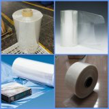 Blanc transparent en PVC bleu clair film rétractable à chaud