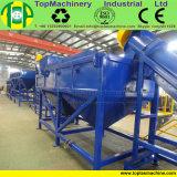 Na venda do leite para a usina de reciclagem de garrafas PET PA PC PS ABS para lavagem de moagem em flocos