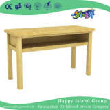 Tabela de quadrados de madeira rústica escolar para crianças (HG-3805)