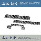 Passo 40-1 della catena del rullo del duplex dell'acciaio inossidabile