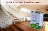 С высоким разрешением High Gloss Термостойкой краски отделка из дерева