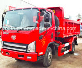 caminhão de descarga da luz do Tipper do descarregador de 3ton 5ton HOWO Dongfeng FAW