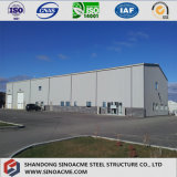 Construction préfabriquée en acier de modèle et d'installation de structure de carbone