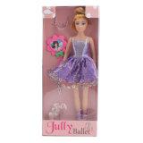 Juguete del cabrito de la muñeca de la manera del ballet de 11.5 pulgadas con los accesorios