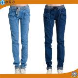 2017 jeans scarni delle signore del cotone di modo dei jeans delle nuove donne
