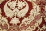 도매 호화스러운 꽃 디자인 자카드 직물 셔닐 실 실내 장식품 소파 커튼 직물