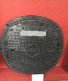 연성이 있는 철 사각 맨홀 뚜껑