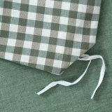 Зеленая оптовая простыня хлопка стационара спальни