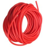 Élastique en caoutchouc de fronde de copie de catapulte de bande de résistance d'exercice de tuyauterie, rouge 2.5m