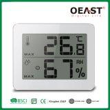 Termômetro e higrómetro Home de Digitas do indicador grande com indicador do conforto
