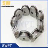 Assento de válvula do carboneto de tungstênio com resistência da elevada precisão e de desgaste