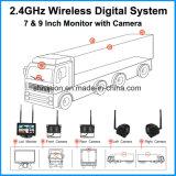 2.4GHz 7 Kameras des Zoll-4 gaben multi Kamera-System ein
