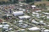 Großes im Freien Ausstellung-u. Messeen-Zelt