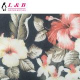 Tessuto stampato africano del poliestere di Multiflower Java