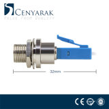 Mâle de LC à l'adaptateur hybride femelle de fibre optique de FC