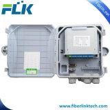 8 coeurs/ports Boîtier de terminaison de câble à fibre optique pour FTTH
