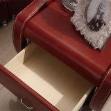 革ベッドの現代家具、Fb8141