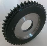 A norma DIN ISO da roda da corrente C45 da Roda Dentada de tratamento térmico de aço