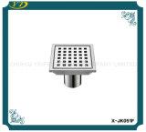 Scolo di pavimento dell'acciaio inossidabile della cucina della stanza da bagno del quadrato di prevenzione degli insetti