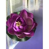Künstliches Lotos-Wasser-sich hin- und herbewegende Blumen-Dekoration