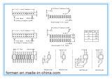 2.54mm PCBのための16のピンすくいのタイプPinヘッダ
