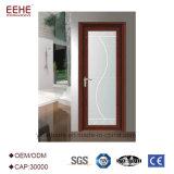 Porta de vidro material decorativa do toalete do Casement da liga de alumínio