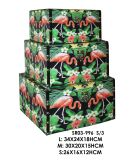 장식적인 자연적인 목제 저장 상자, 선물 상자, 보석함 조직자
