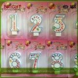 Número de aniversário Velas