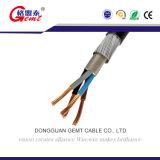 Кабель проводника стренги медный изолированный PVC/XLPE электрический