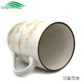 Tazza di ceramica di vendita calda lustrata disegno di marmo 2017