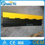 Kanal-Gummikabel-Schoner-Rampe des Fabrik-Preis-2 oder Feuer-Schlauch-Rampe