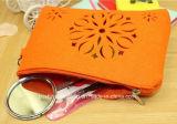 女性ポリエステルファブリック装飾的な袋のための環境の環境に優しいフェルトの装飾的な袋少し記憶手のケースの構成袋