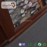 Le WPC Composite bois intégrée en matière plastique carte du panneau de papier peint