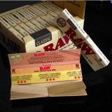 Libretes sin refinar naturales delgados sin procesar del papel de balanceo del tabaquismo 50 110m m gigante