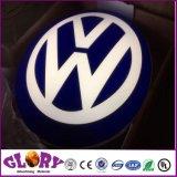 بالجملة يعلن عالة معدن [3د] سيارة إشارة سيّارة علامة تجاريّة