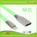 Gevlechte 2.4A USB Snelle het Laden van de hoogste Kwaliteit Nylon Kabel USB voor iPhone